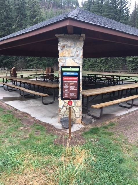 Picnic Shelter at Pine Valley Ranch Park