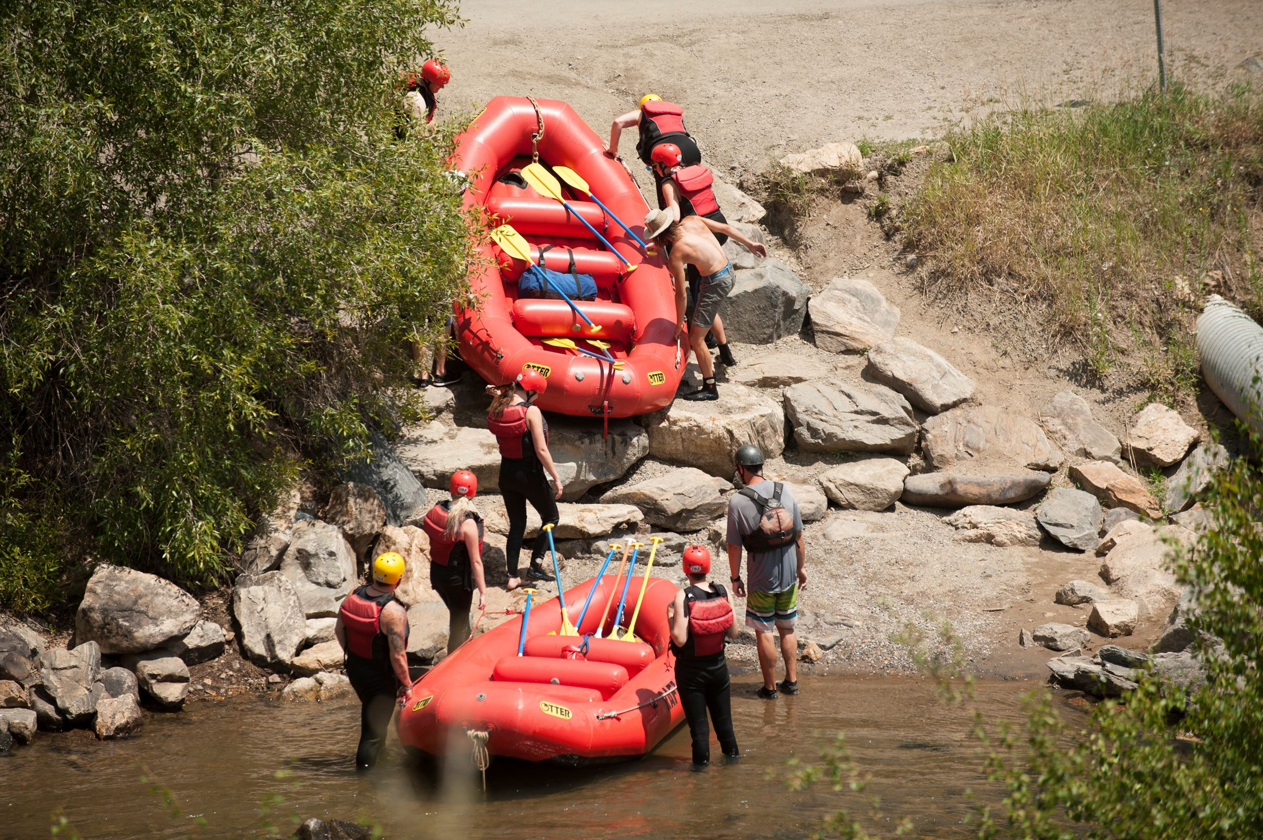 Rafting in Clear Creek Canyon Park