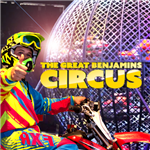 The Great Benjamins Circus Motorcycle Stunt Driver