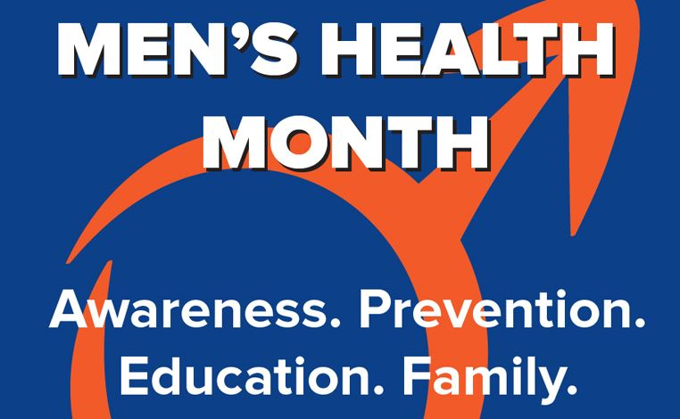 men&#39s health month logo