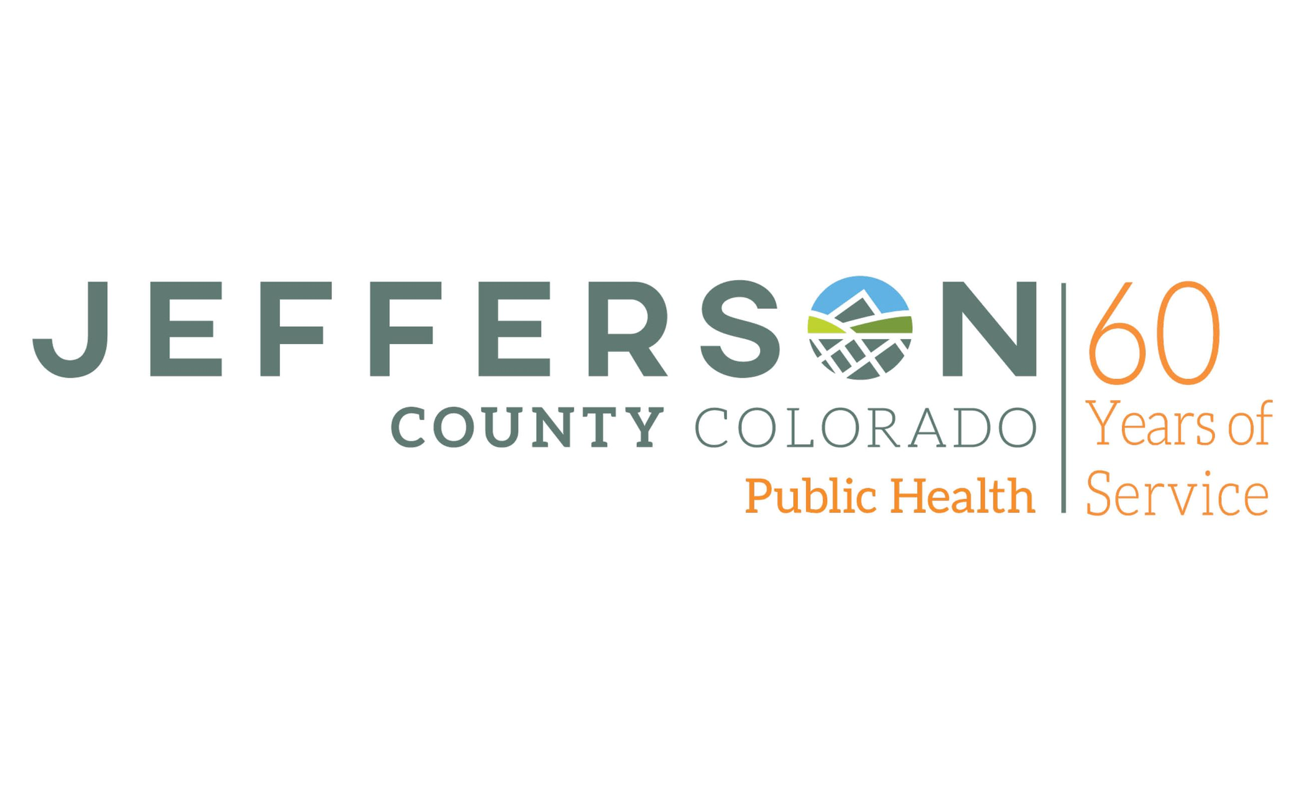 Jefferson County Public Health 60 Years of Service Logo
