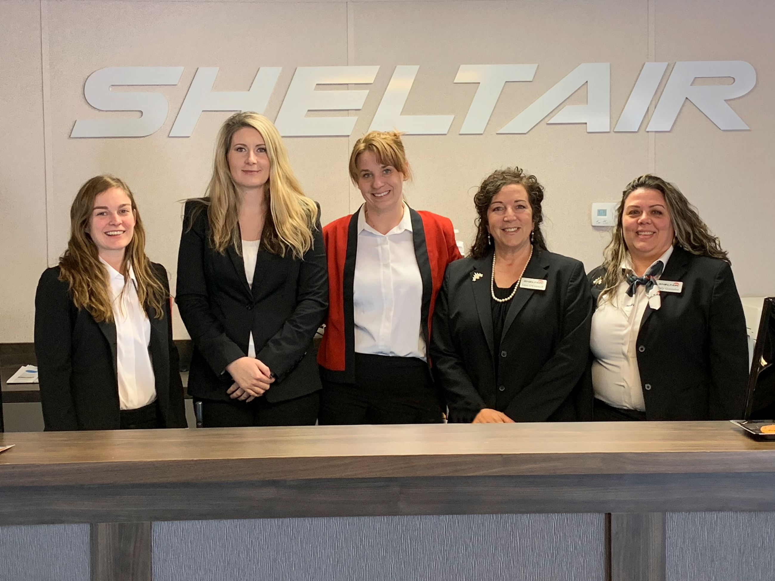 Sheltair front desk