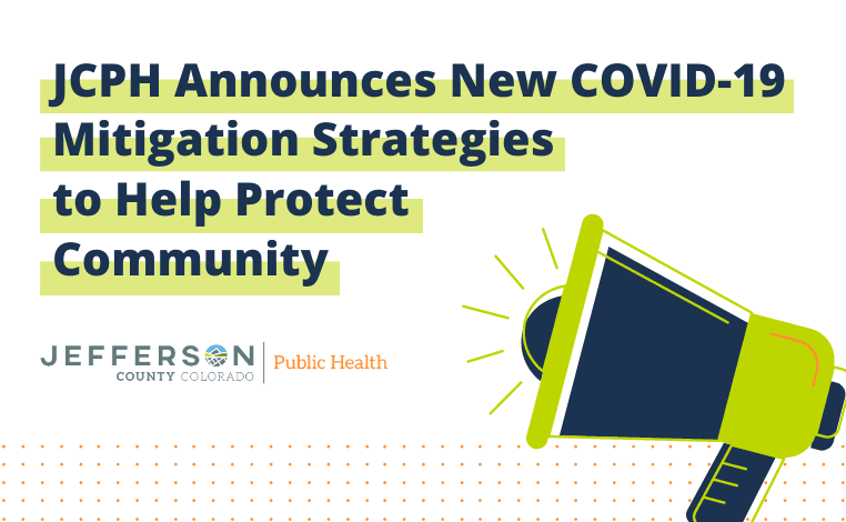 JCPH Announces New COVID-19 Mitigation Strategies