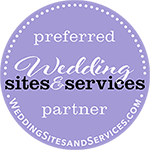 Select this image to connect to our page on Wedding Sites & Services' website.