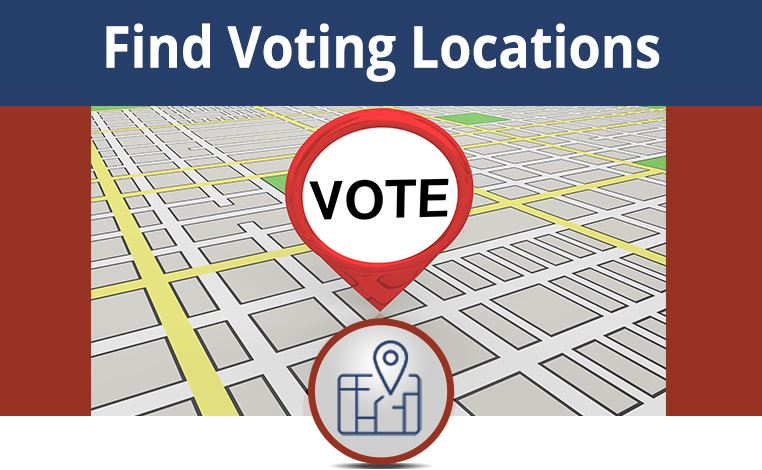 Image for Finding Voting Locations link